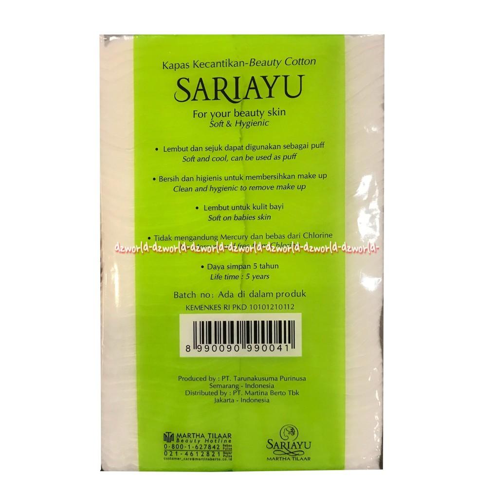 Selection Special Facial Cotton Thick Kapas Wajah Tebal 1 Pc Cek Kecantikan 35g 50gr Sariayu Sari Ayu Shopee Indonesia