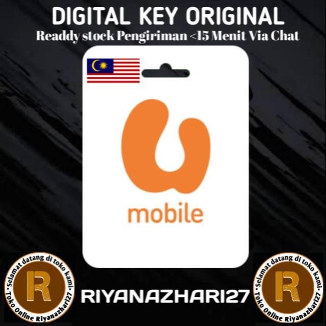 Voucer U Mobile Pulsa Malaysia Rm Prepaid Reload Digital Code Shopee Indonesia