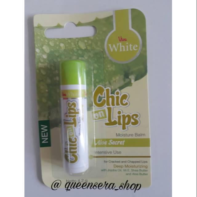 Moisture Balm Chic On Lips - Aloe Secret (Intensive Use) | Shopee Indonesia
