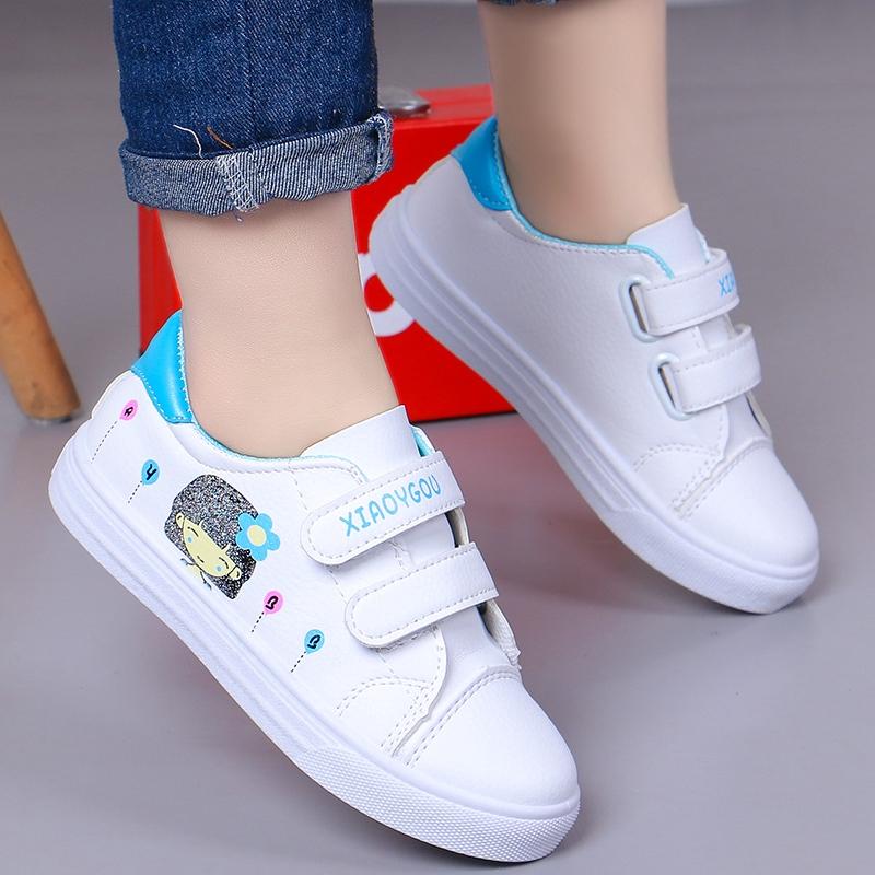 Sepatu Anak Anak Perempuan Sepatu Putih 2020 Musim Semi Dan Musim