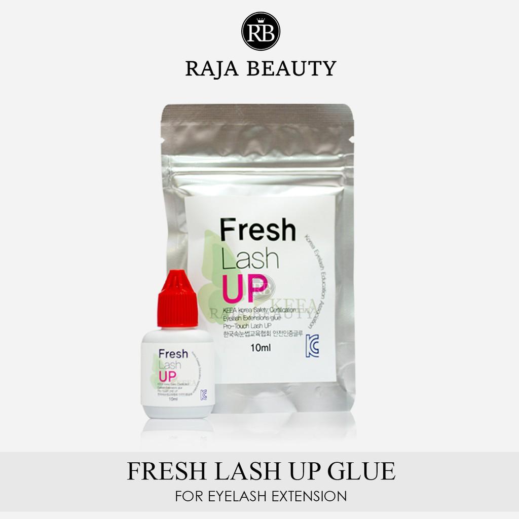 Lem Fresh Lash Up Glue Eyelash Extension 100% Original Korea For Beginner  Sensitive Glue
