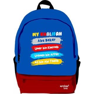 Ransel Anak Cewek Generasi Hafidz Quran Untuk PAUD TK Merah Muda - Kuning .