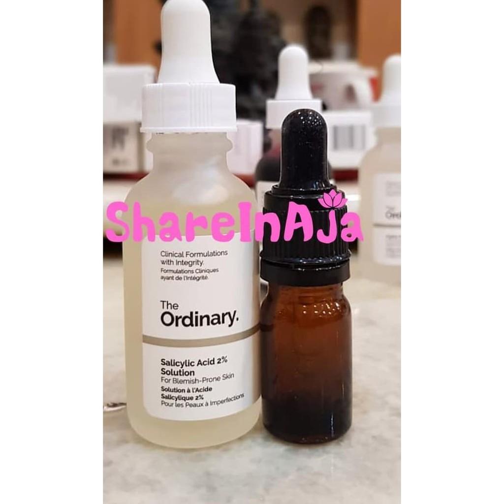 Th Share The Ordinary Salicylic Acid 2 Solution 5ml Th Shopee Indonesia