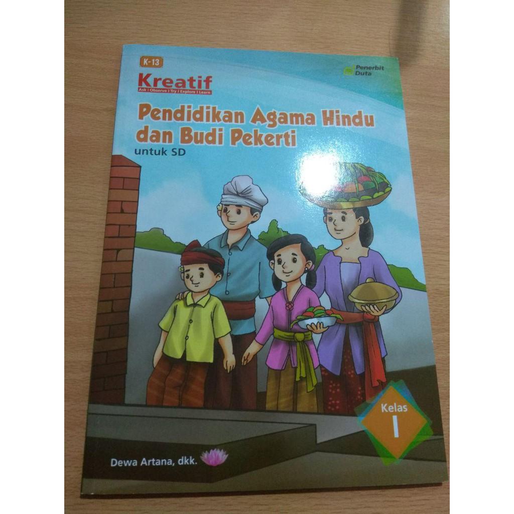 Buku Pendidikan Agama Hindu Dan Budi Pekerti Untuk Sd Kelas 1 Shopee Indonesia