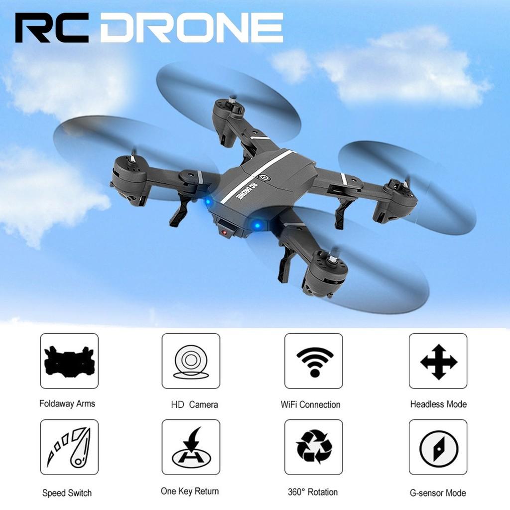8807 WIFI FPV 2MP Lipat HD 30W / 200W Kamera Drone UFO Gyro 2 4G 4 CH  6-Axis RC Quadcopter