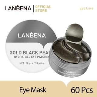 LANBENA Gold Black Pearl Collagen Eye Mask 60 Pcs thumbnail