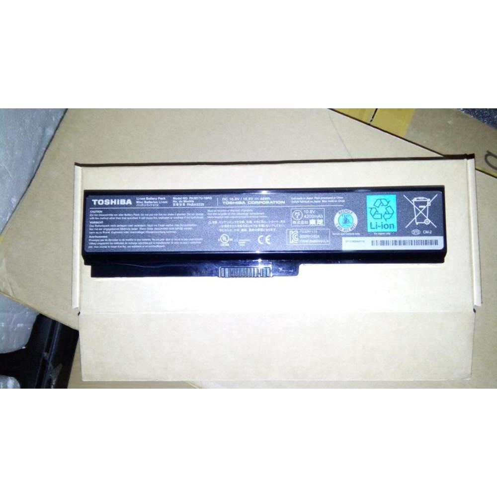 Baterai Laptop Toshiba Satellite C600 C640 C645 C650 C655 Series C600d C640d C635 C605 Oem Model Pa3817u 1brs Origin Shopee Indonesia
