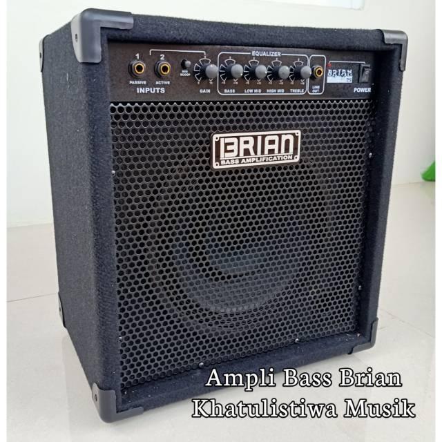 Ampli sound Bass gitar 10 inch 2 input