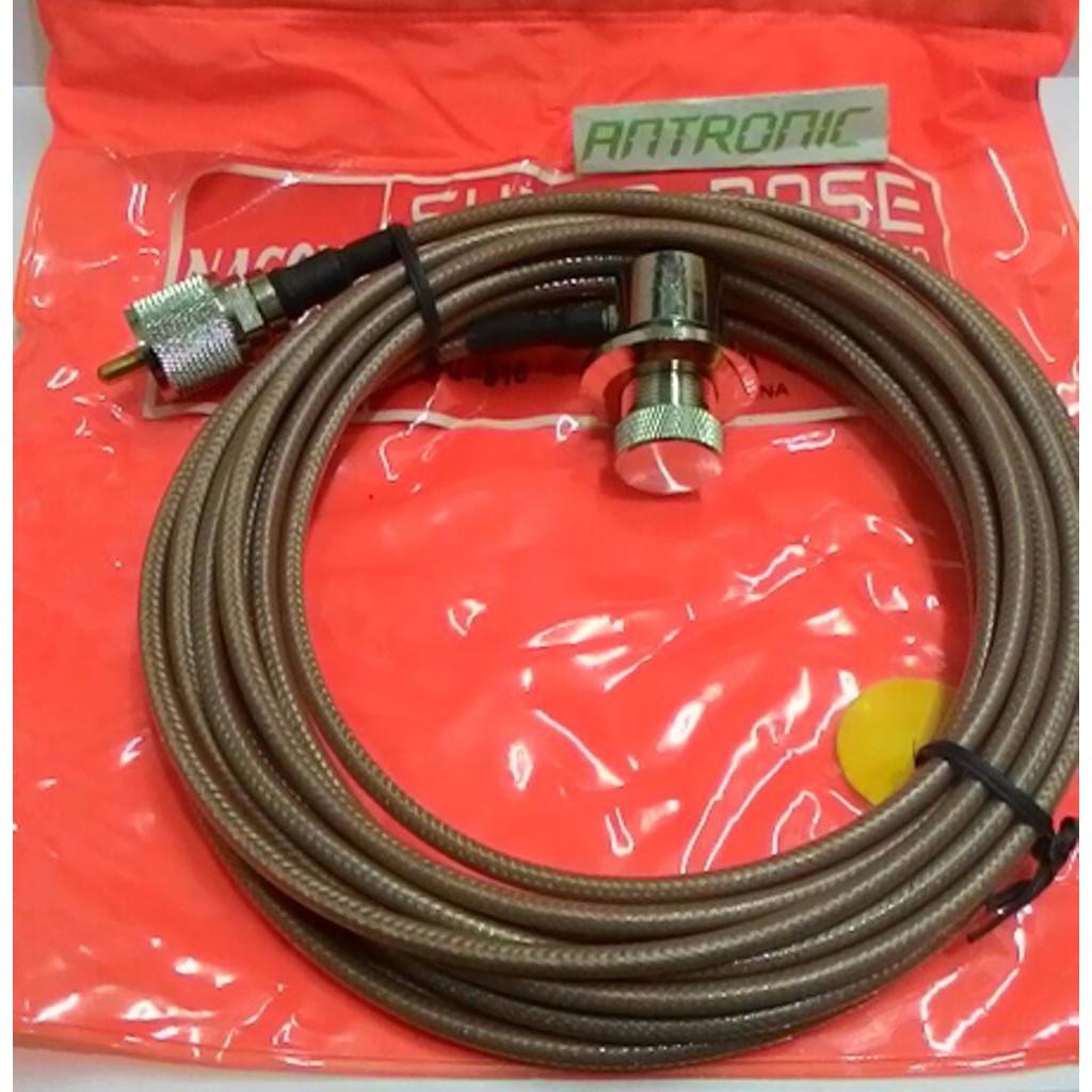 Kabel Bracket Antena Mobil Rg58 Teflon 49m Untuk Rig Kenwood Yaesu Teplon Alinco Icom Weierwei Qyt Shopee Indonesia