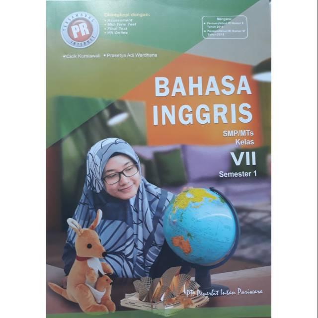 Buku Pr Lks Bahasa Inggris Kelas Vii 7 Semester 1 K13 Revisi Intan Pariwara Shopee Indonesia