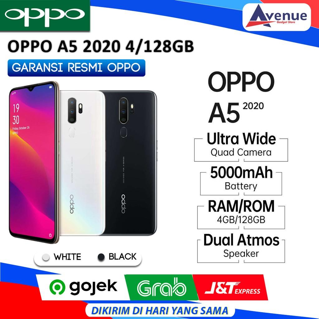 Hp Oppo A5 2020 4 128gb Garansi Resmi Oppo Promo Murah Shopee Indonesia