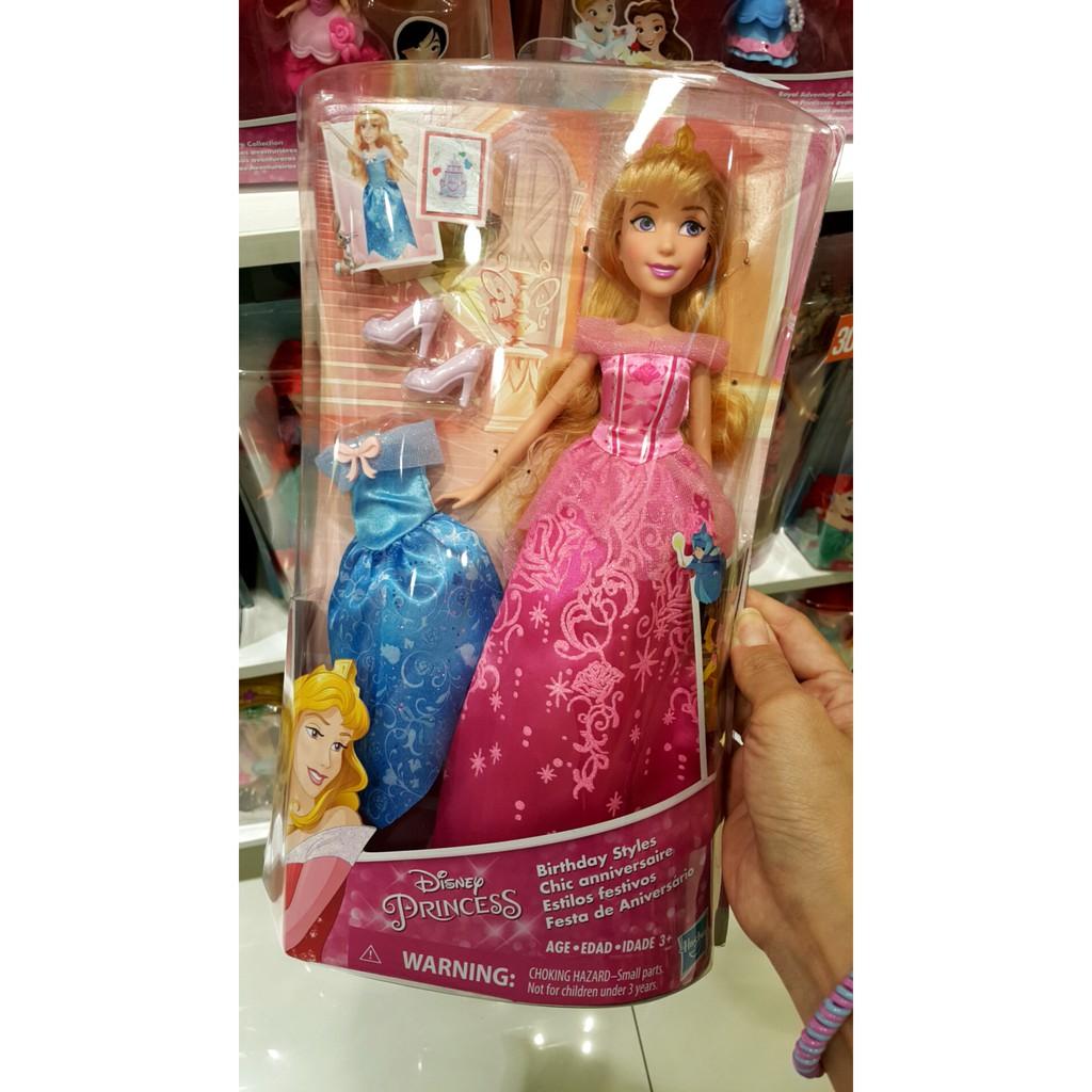 Disney Princess Baby Aurora Doll Mainan Original Asli  0a9e53258f