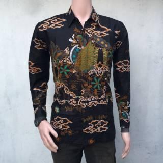 Kemeja Batik Pekalongan Hem Batik Pria Pakain Pria Grosir Batik Murah 4fb6cea50e