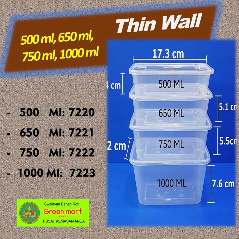 Terlaris Thinwall Merk Best Fresh 1000