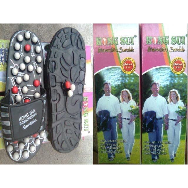 Original Sandal Kesehatan REFLEKSI AKUPUNTUR TERAPI All SIZE   Shopee Indonesia
