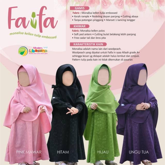 Faifa By Moslem Libasuna Shopee Indonesia