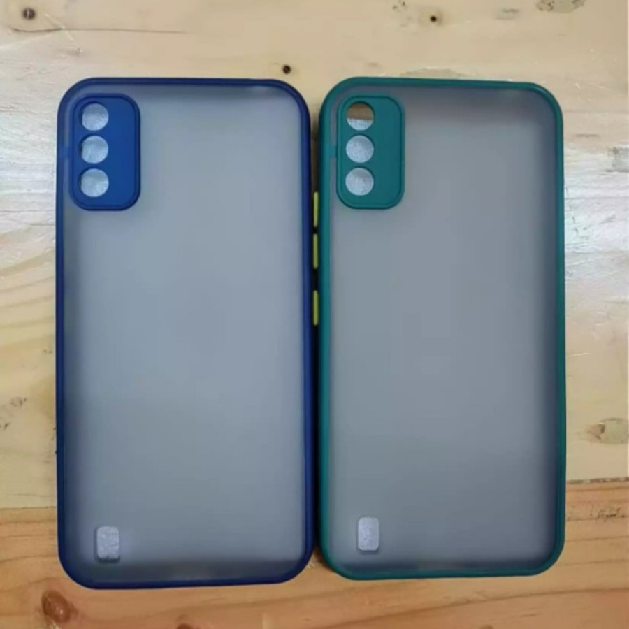 Case Handphone ITEL A26 Dove matte Transparan Softcase Hp