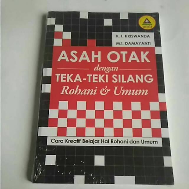 Buku Asah Otak Dengan Teka Teki Silang Rohani Umum Buku Kristiani Shopee Indonesia