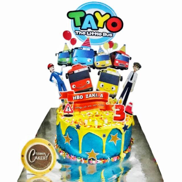 Cake Kue Ultah Ulang Tahun Tayo