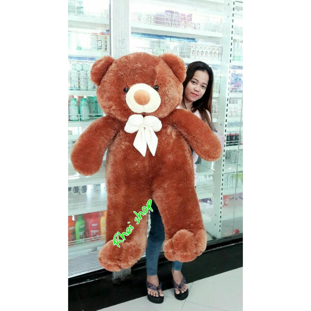 TERLARIS!! Boneka Beruang Teddy Bear Pita Besar Jumbo Merah 100 cm ... 1591dfff5b