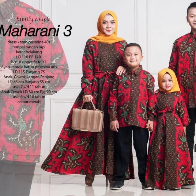 EKSLUSIF MURAH Sarimbit Lebaran Alnita Couple Family 05 Maroon Baju Couple Keluarga | Shopee Indonesia