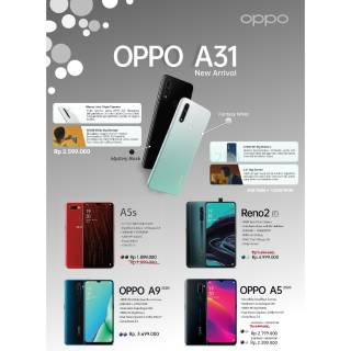 Handphone Oppo Terbaru 2020 | Shopee Indonesia
