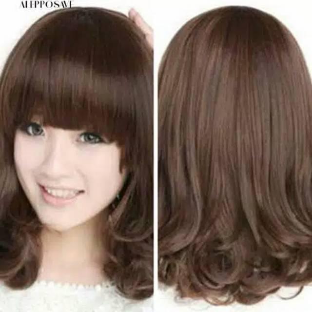 Model Rambut Pendek Sebahu Tipis Gaya Ootd