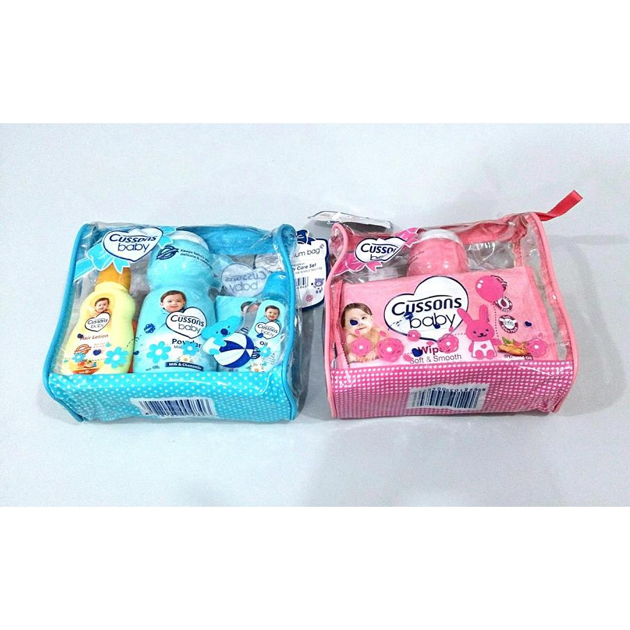 Cussons Baby Caring Gift Set Medium Bag Best Seller Shopee Purple Complete Care Indonesia
