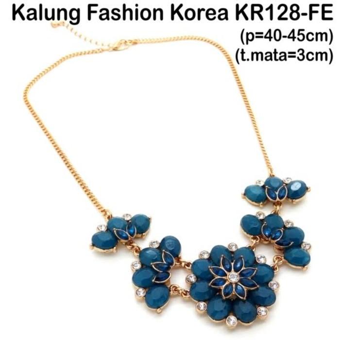 Aksesoris Perhiasan Kalung Wanita Crystal Box Lady Necklace SPCN750 Silver Plated | Shopee Indonesia