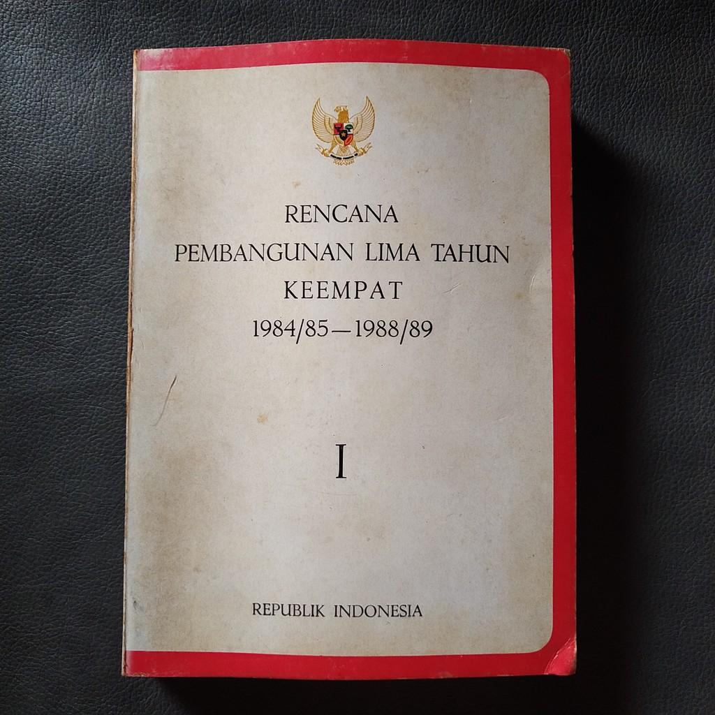 Buku Bekas Rencana Pembangunan Lima Tahun Keempat 3 Seri Shopee Indonesia