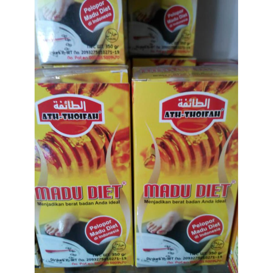 New Madu Diet Ath Thoifah Pelangsing Sehat Alami Terlaris Shopee Indonesia