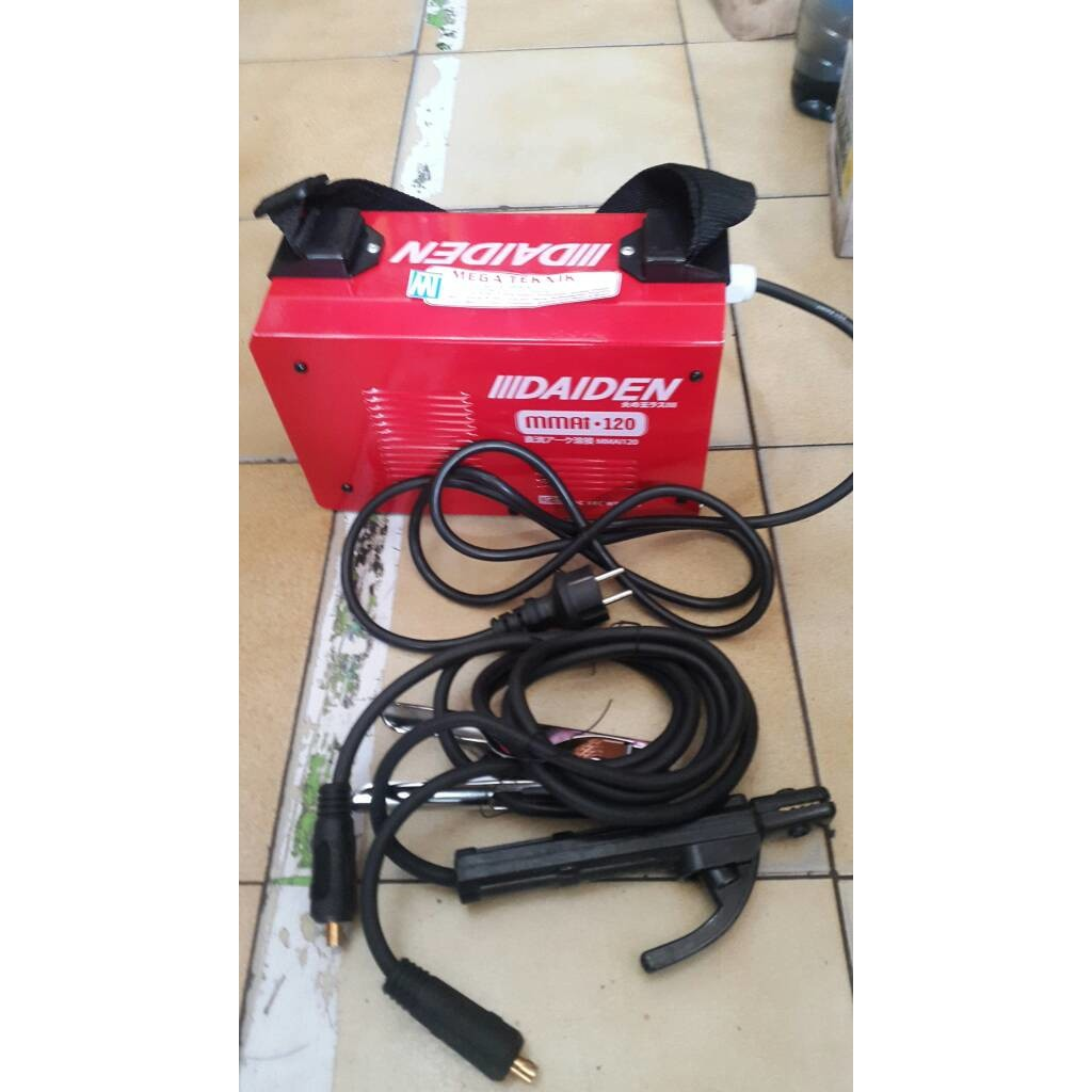 Mesin Las Mma 120 A Daiden Mmai120 Mmai Welding Machine Shopee Indonesia