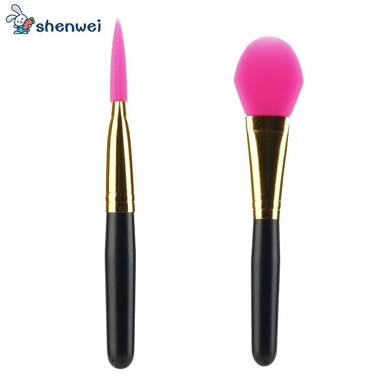 2PCS Silicone Anti-Sponge Makeup Applicator ...