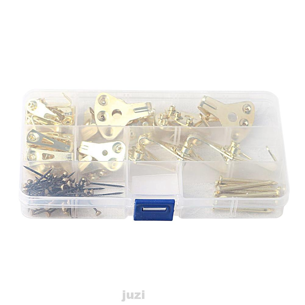 Wall Picture Frame Hanger Hooks with Nails10 lb30 lb50 lb  sets