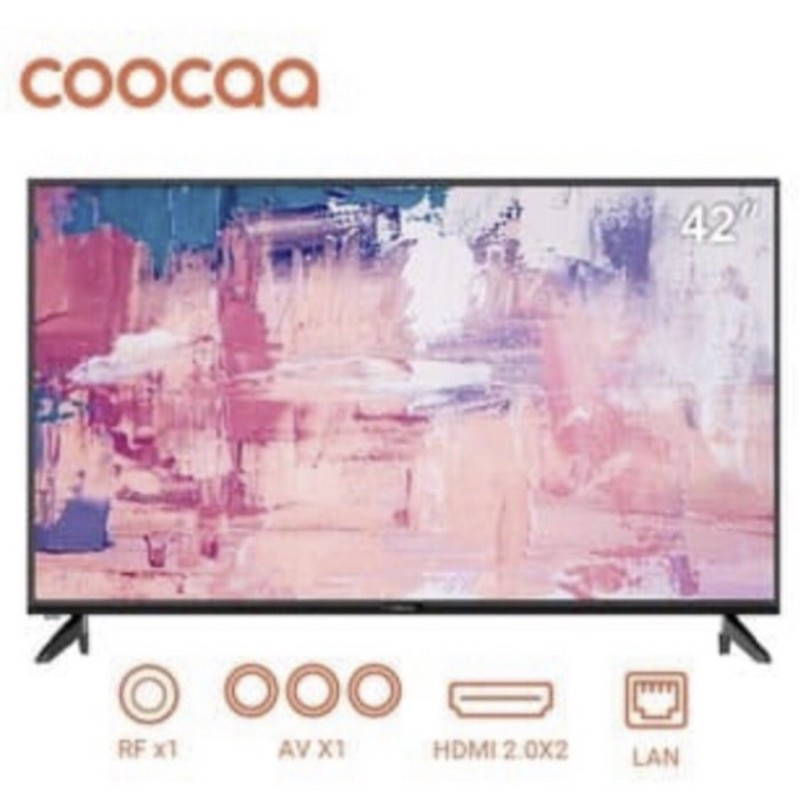LED TV Coocaa 42inch smart android