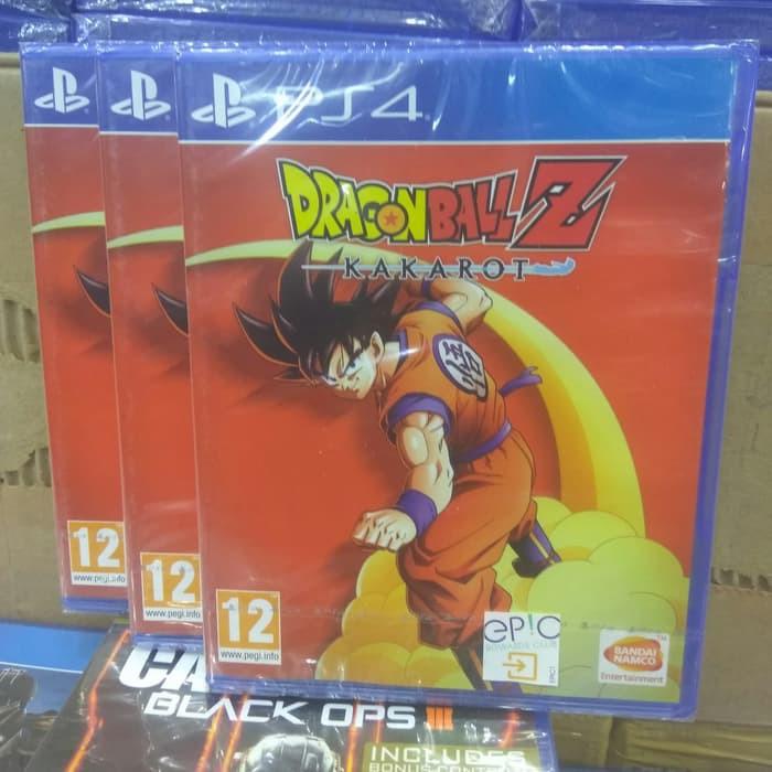Ps4 Dragon Ball Z Kakarot Shopee Indonesia