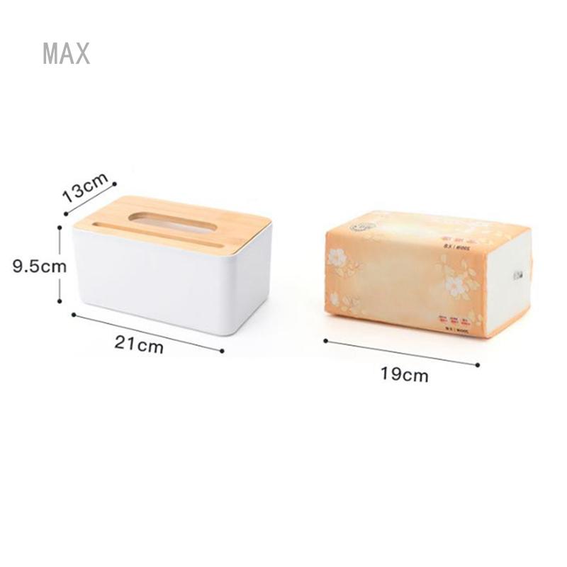 Max Guangqingmaoyi Id Id Multifunctional Tissue Box Bathroom Storage Desktop Remote Control Storage Box Bedroom Wooden Tissue Box Shopee Indonesia