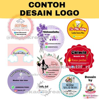 TERMURAH JASA Desain logo olshop/stiker /postingan/kartu ...