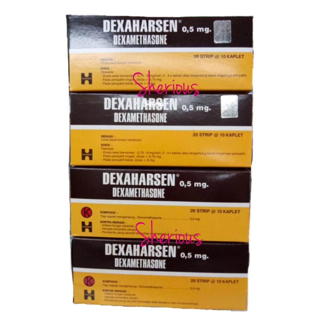 Carbidu Per Box Dus Dos Dexamethasone 05 Mg Obat Alergi Bio Mega Kaplet 1 Strip Isi 10 Shopee Indonesia