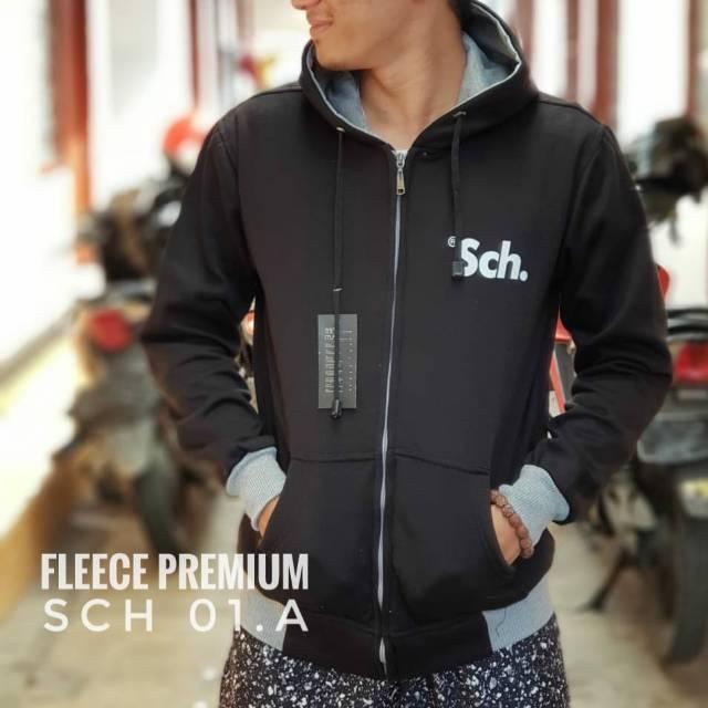 Jaket sweater sch premium  jaket distro rsch  sweater abu abu cewek cowok  jaket distro  b0b13e2d79