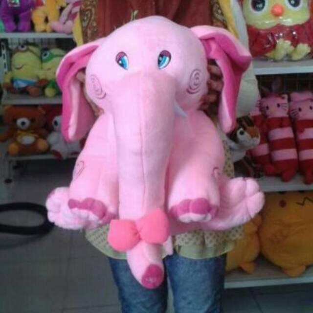 Boneka gajah jumbo   besar  big  2438d1a0fb