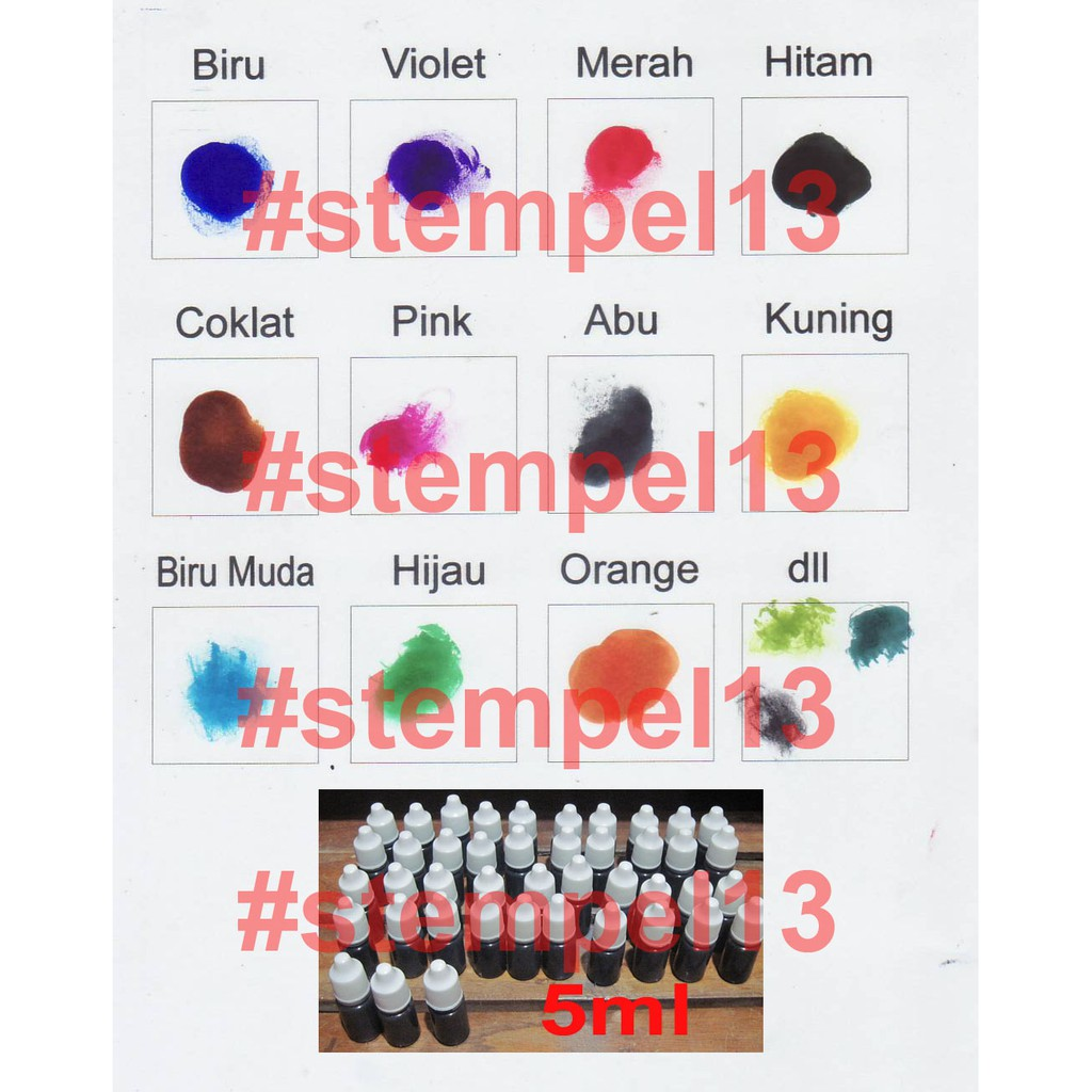 Paket Mesin Stempel Warna Jumbo Komplit Shopee Indonesia Flash