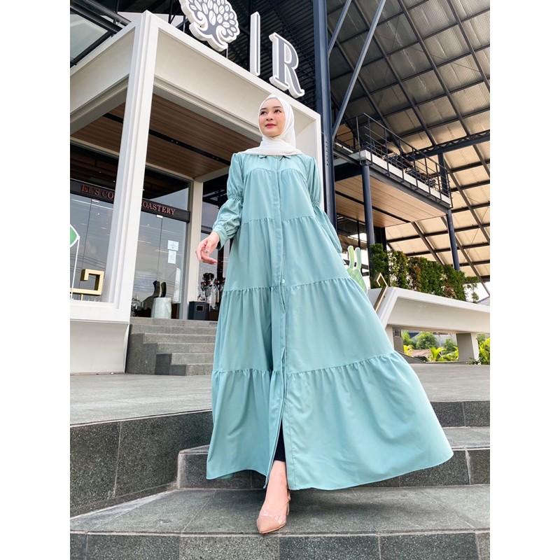 Baju Gamis Lebaran Gamis Remaja Terbaru Gamis muslimah Kekinian yava maxy
