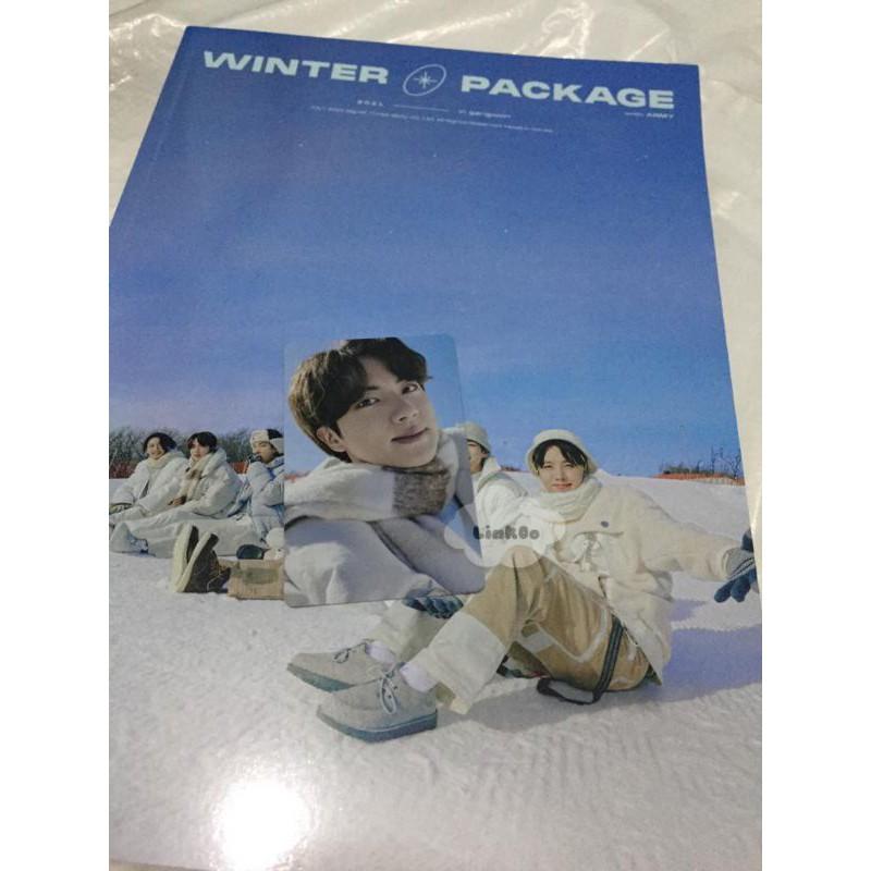6 CUT FILM PHOTOCARD PC JHOPE JIMIN JIN KIM SEOKJIN BTS WINTER PACKAGE 2021 IN GANGWON WINPACK
