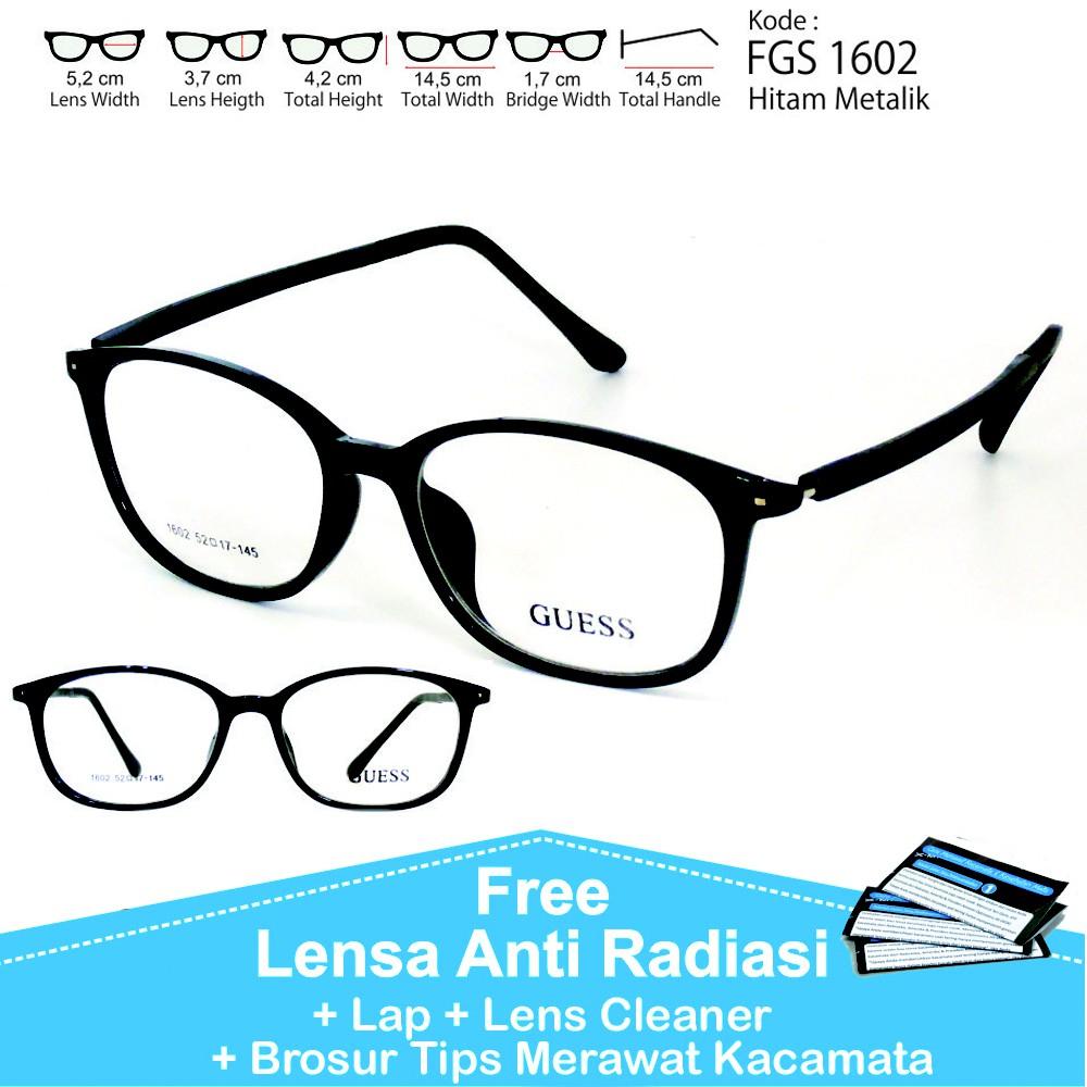 Frame Kacamata Minus Anti Radiasi CAD 9012  4ae5e6f791