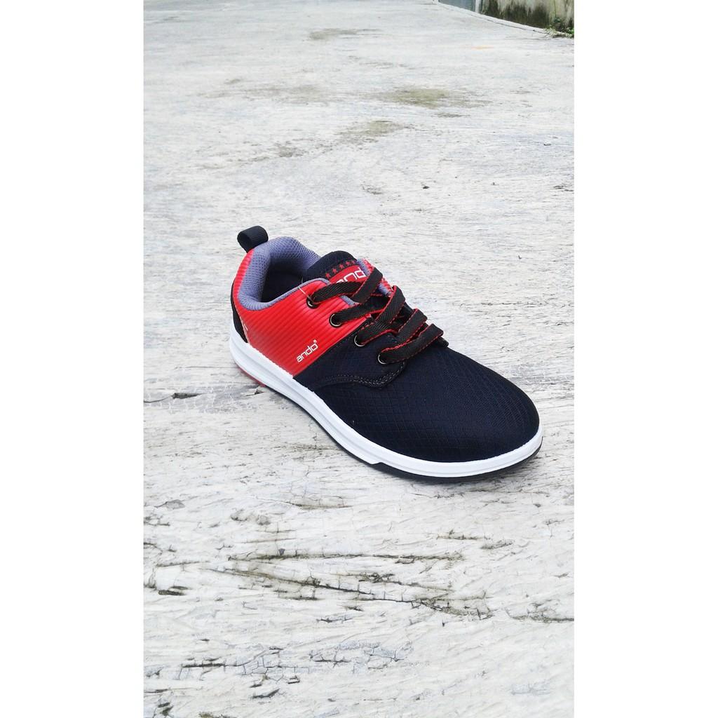 Sepatu Cewek   Sepatu Cowok Sepatu Sekolah Ando Enzo Jt M Black ... b12172fae6