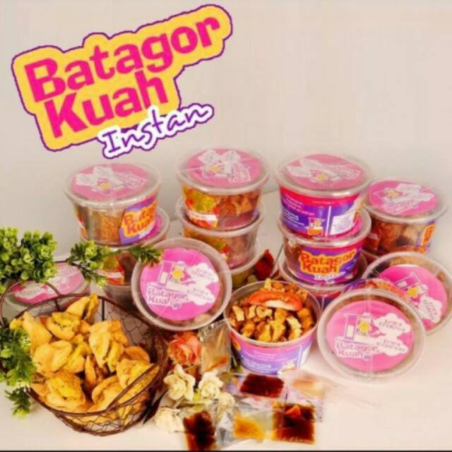 Batagor kuah maicih - pedas original level 10 (paket 2cup)   Shopee Indonesia