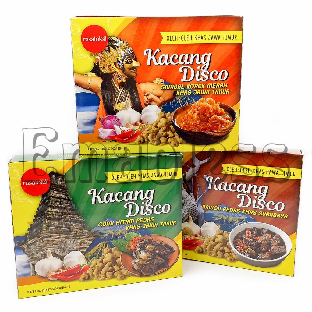 Paket 3 Pcs Rasalokal Kacang Disco Bandung . Rasa Lokal Jawa Barat | Shopee Indonesia