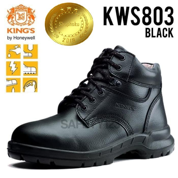 Sepatu Safety Kings KWS803 Original Safety Boots Kings KWD803 Kulit Asli