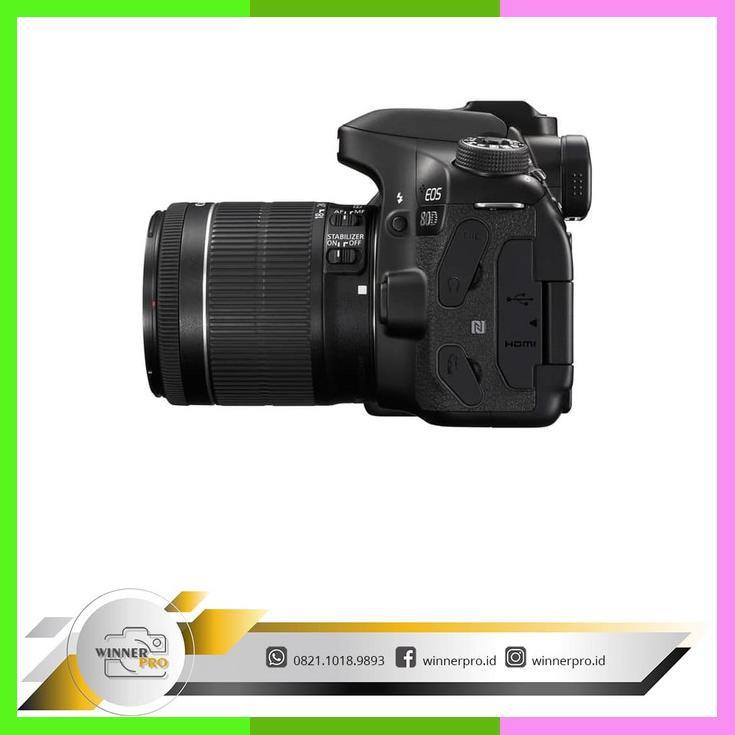 Kamera Canon Eos 80D Kit 1855 Is Stm / Kamera Canon 80D/ Eos 80D/ 80D